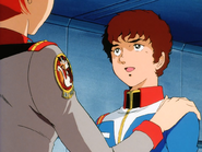 Mobile Suit Gundam Journey to Jaburo PS2 Cutscene 039 Matilda Amuro