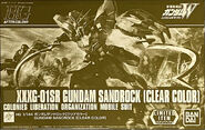 HGAC Gundam Sandrock -Clear Color-