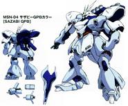 Sazabi GPB colors