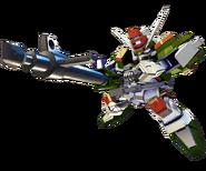 ''SD Gundam G Generation Crossrays''Buster Gundam