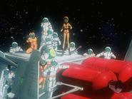Mobile Suit Gundam Journey to Jaburo PS2 Cutscene 104White Base Crew 3