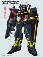 ReAMATU Gundam Astray Gold Frame Early Design