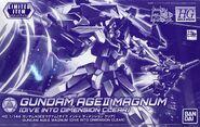 HGBD Gundam AGEII Magnum - Dive Into Dimension Clear
