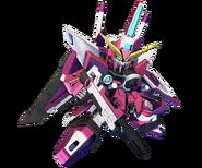 SD Gundam G Generation Cross Rays Infinite Justice Gundam