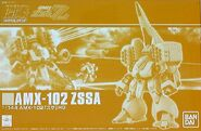 Gunpla HGUC Zssa-ZZ box
