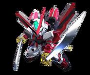 SD Gundam G Generation Cross Rays Gundam Astray Red Frame Kai