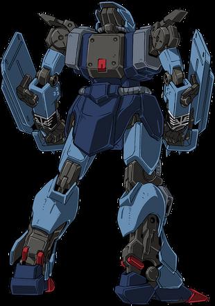 Rear (Spike Shields in hands)