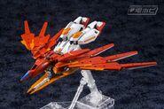 BN-876β Hot Scramble Gundam (Gunpla) (Front Flight Mode)