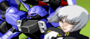 Gundam SEED destiny GBA Yzak 1