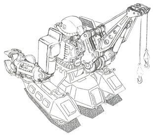 Rear (w/ Crane)