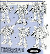 Shokew earlier designs