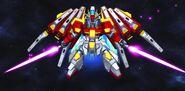 BN-876β Hot Scramble Gundam (MS Mode) (SD Gundam) 03