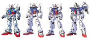 GP01 Gundam Zephyranthes designs