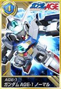 Gundam AGE-1 Normal Gold