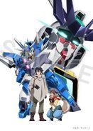 Hiroto,Freddie,Earthree Gundam & Uraven Gundam