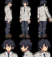 Hiroto Kuga (Real) Character Sheet