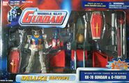 MSiA rx-78-2 Ver1-5 and G-Fighter p01 USA front