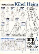 Turn A Gundam Kihel Heim Fashion Details