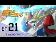 GUNDAM BUILD FIGHTERS-Episode 21- Amid the Glittering Particles (ENG dub)