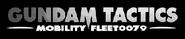 Gundam Tactics Mobility Fleet0079 Logo