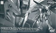 RG Freedom Gundam Deactive Mode