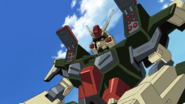 Buster Gundam Missile Launchers (Seed HD Ep39)
