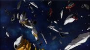 Destroyed Legilis Gundam