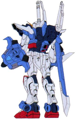 Caliburn Raigo Gundam (Rear)