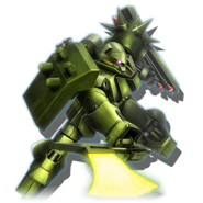 Gundam Diorama Front 3rd AMS-119 Geara Doga