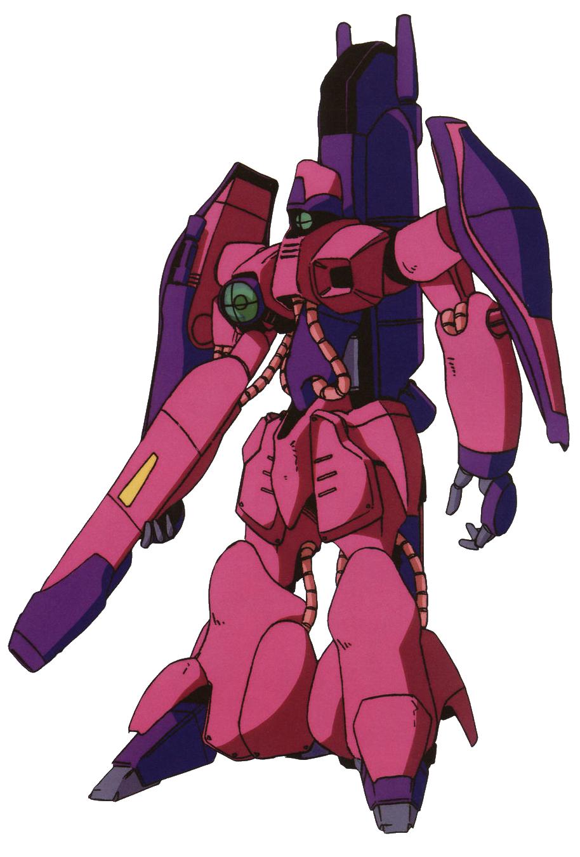MSIA Mobile Suit in Action ZZ Gundam AMX-003 Gaza C White action figure Bandai