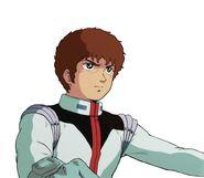 Character Profile Amuro Ray pilot suit