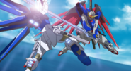 Strike Freedom Blocking Destiny's Sword 02 (Seed Destiny HD Ep41)