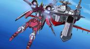 Infinite Justice Gundam Rear 01 (Seed Destiny Ep41)