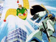 MFGG-EP31-Jester-Gundam-destroys-Rose-Gundam