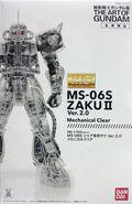 MG Char's Zaku II Ver. 2.0 (Mechanical Clear Ver.)