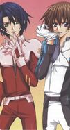 Athrun and Kira 30th Illustration by Shinjo Mayu