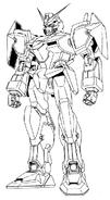 GAT-X102 Duel Gundam Lineart