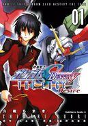 Gundam SEED Destiny The Edge desire Cover vol 1