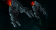 Raphael Gundam GN Claws 01 (00 Movie)