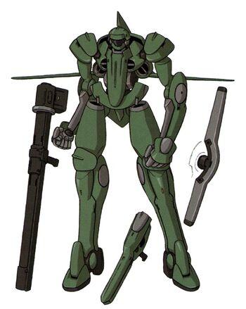 MS Mode (Front w/ armaments)