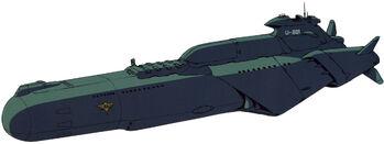 U-801 Refit (Front)