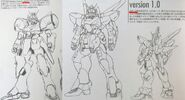 Victory 2 Gundam Early Design