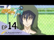 GUNDAM BUILD FIGHTERS TRY-Episode 14- Worthy Rivals (ENG dub)