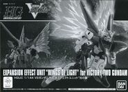 HGUC Victory Two Gundam Wings of Light Set