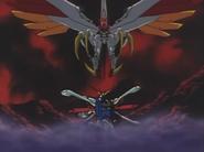VS Burning Gundam
