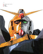 Gundam MK-II Illust Head