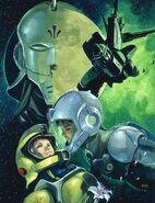 Gundam f91 cover BD