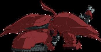 Rear (Ground Combat Mode)