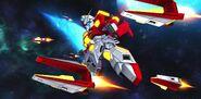 BN-876β Hot Scramble Gundam (MS Mode) (SD Gundam) 08