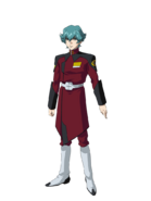 G Gen Cross Rays Custom Character (Male ZAFT Red Uniform)